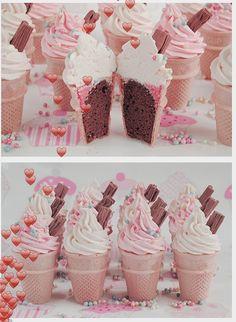 Icecream Cone Cupcakes