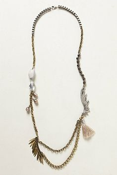 Swiftness Necklace #anthropologie