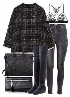 df434ef68e edgy teen fashion 464 #edgyteenfashion Tenue De Travail Décontractée, Mode,  La Mode D