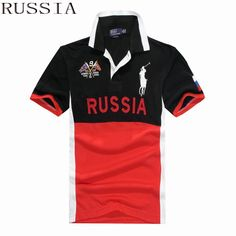 Ralph Lauren Men Country Big Pony Polo Short Sleeve Russia