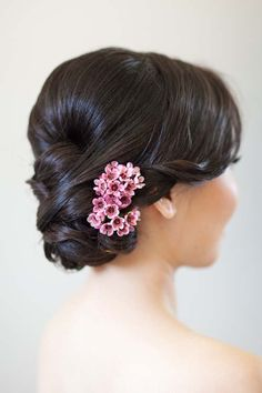 20 Wedding Hair Ideas with Flowers // Amy Chan Hair & Makeup Artistry