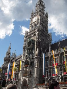 Neues Rathaus (City Hall) Munich, Germany The Rathaus-Glockenspiel of Munich is a tourist attraction in Marienplatz the heart of Munich. Part of the second construction phase of the New Town Hall, it dates from 1908.  Munich, Germany