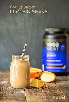 Peanut-Butter-Protein-Shake-by Vega Sport