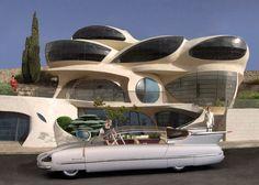 1955 Borgward Traumwagen. A rare oddity from the year of my birth.