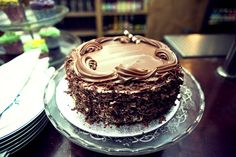 The Little Green Big Chocolate Fudge Cake