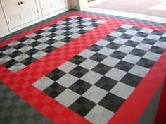 Popular Garage Flooring Options for You : Ideas For Garage Flooring Tiles