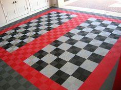 Popular Garage Flooring Options for You : Ideas For Garage Flooring Tiles
