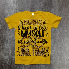 Jail Time T-Shirt - 2XL / Mustard