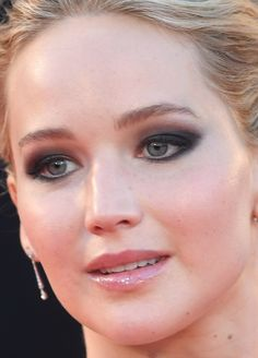 Close-up of Jennifer Lawrence at the 2017 Venice premiere of 'Mother!'