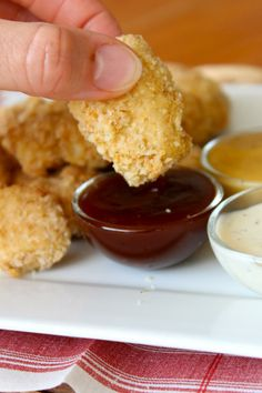 The BakerMama | Gold Medal - BAKED CHICKEN NUGGETS