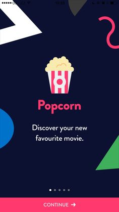 Popcorn: discover your new favourite movie Design Patterns - Pttrns
