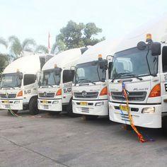 Our new Trucks ready delivery of goods to across Indonesia every day..  #trucksofinstagram #truckdaily #trucklife #trucks #vscocamphotos #vscocam #hdr #indonesia #jakarta #surabaya #semarang #logisticscompany #logisticsmanagement #logistics #eureka #eurekatrucks #eurekalogistics
