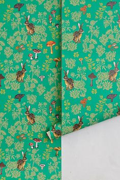 Would love to put this wallpaper in a little reading area in Lillah's room.  http://www.anthropologie.com/anthro/product/home-new2/29083599.jsp