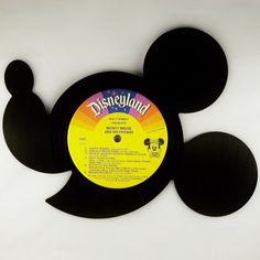 Recycled Vinyl Record Disney's MICKEY MOUSE
