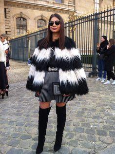 Street Style #PFW 2015 #Dior