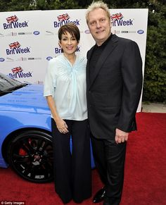 @PatriciaHeaton and husband David Hunt. Amazing hosts!