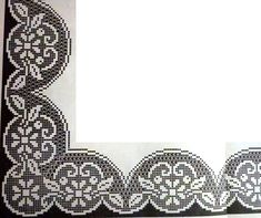 New crochet lace heart table runners ideas Crochet Doily Diagram, Filet Crochet Charts, Crochet Borders, Crochet Cross, Crochet Trim, Crochet Lace, Crochet Stitches, Crochet Dollies, Crochet Gifts