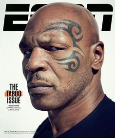 Mike Tyson was a pariah. Then he embraced the monster within. Then a very bad man started to have some very good years. He covers the June 2013 issue of ESPN the Magazine (The Taboo Issue). Famous Men, Famous Faces, Mike Tyson Boxing, Celebrity Portraits, Portrait Poses, Muhammad Ali, Male Face, Eminem, Espn