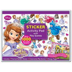 Doc Mcstuffin Large Mega Art Craft Set Pencil Colouring Markers Sticker Toy Case