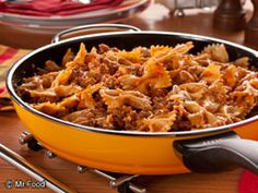 Easy Skillet Lasagna from @Stephanie Parker - Finalist in Ultimate Weeknight Meal Contest