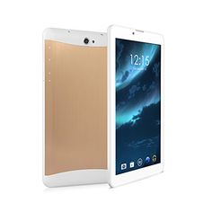 """LeaningTech QT-07 7"""" inch 3G Smart Phone Google Android 4.4.2 WiFi Tablet Phablet with 2 SIM Card Slots, MTK6572 Dual Core Tablet, 8GB, Golden - LeaningTech QT-07 7″ inch 3G Smart Phone Google Android 4.4.2 WiFi Tablet Phablet with 2 SIM Card Slots, MTK6572 Dual Core Tablet, 8GB, Black  Summary:  CPU: MTK6572 Dual Core 1.2GHZ CORTEX-A7  Operating System: Google Android 4.4.2  Size: 7″ TFT LCD  Display Technology: Full Size,... - http://buytrusts.com/giftsets/table"""