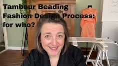 Tambour Beading Fashion Design Process: Why? - YouTube Tambour Beading, Embroidery Techniques, Design Process, Beads, Youtube, Fashion Design, Style, Beading, Swag