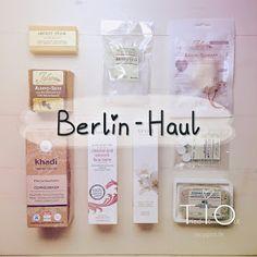 Berlin Haul :) Naturkosmetik!
