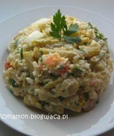 Fasolkowa sałatka z ryżem - Jarskie