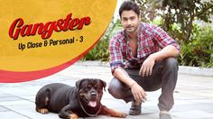 """I adore dogs, love them. Exploring the other side of Yash, only on 'Gangster Up, Close & Personal. Dogs, Animals, Animales, Animaux, Pet Dogs, Doggies, Animal, Animais"