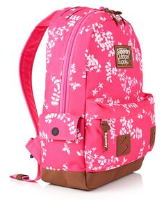 Superdry D3 Miami Women's Pink Backpack Multicolour deFChb
