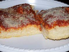 Tupper Cooks!: Authentic Utica Tomato Pie....