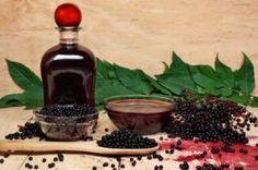 Homemade Elderberry Syrup/ Fight Flu Naturally