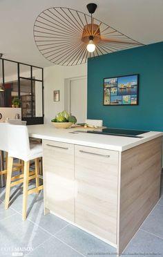 un verrière est idéale pour séparer la cuisine du salon. | véranda ... - Cours De Cuisine Essonne