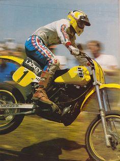 1983 USGP Brad Lackey Dirt Rider Photo