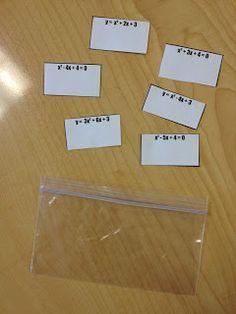 9-5: Quadratic Formula- Teaching the Quadratic Formula