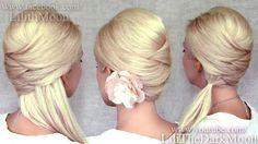 Criss cross hair styles