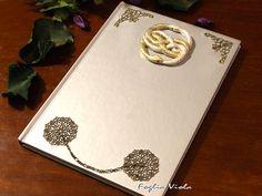 Auryn Journal Neverending Story book ouroboros by FogliaViola