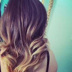 Balayage Ombre on short hair :) @Lizett Mejia