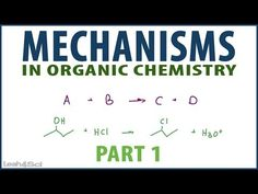: Introduction to Orgo Reaction Mechanisms + Nucleophilic Attack and Loss of Leaving Group explained. #Orgo #OrganicChemistry