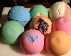 More Handmade Bath Bombs
