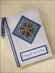 quilling card-Happy Father's Day