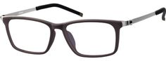 9f144a2f9132 Brown Rectangle Glasses  7805015