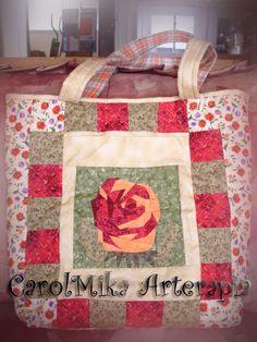 by CarolMika Arterapia  Patchwork Bag