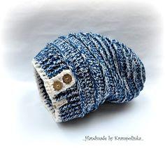 Easy slouchy hat in 5 sizes · Free Crochet Patterns Krampolinka Crochet Scarves, Knit Crochet, Crochet Hats, Free Crochet, Fashion 2017, Fashion Brands, Womens Fashion, Mitten Gloves, Mittens