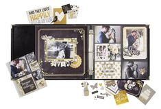 New Simple Stories The Story of Us - Scrapbook.com - Made with the Simple Stories The Story of Us collection.