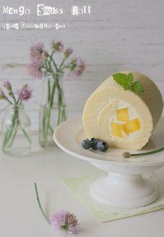 Jessie - CookingMoments: Mango Swiss Roll 芒果蛋糕卷