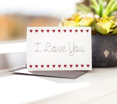 Sometimes you just need a quick and simple card to give to the ones you LOVE...and once again, the Cricut Explore will help you get it done.