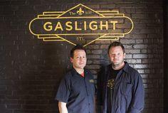 Gaslight, a homage to St. Louis' midcentury Gaslight Square entertainment…