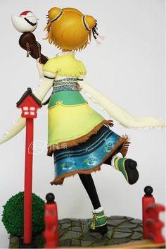 【柠萌】lovelive小泉花阳福神觉醒正比 第54步 Clay Creations, Chibi, Polymer Clay, Kawaii, Dolls, Pasta, Cold, Baby Dolls, Anime Figures
