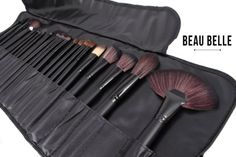 Beau Belle Pinceaux Maquillage - 24pcs Make Up Brushes - Pinceaux Maquillage Professionnel - Makeup Brushes - Set Pinceaux Maquillage - Set De Pinceaux Maquillage - Maquillage Professionnel - Professional Makeup Brushes - Set De Pinceaux Maquillage Professionnel: Amazon.fr: Beauté et Parfum
